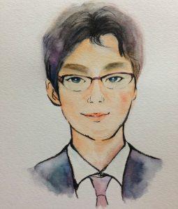似顔絵_酒井