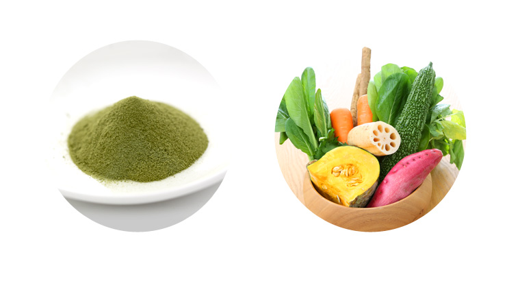 Domestic vegetable green juice