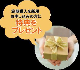 定期購入を新規お申し込みの方にミルクボトルプレゼント!※プレゼント内容は変更になる場合がございます。