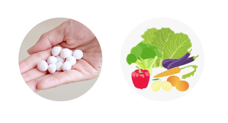 Fruit liver oil drop