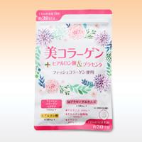 【3カ月ごと定期購入】美コラーゲン+ヒアルロン酸&プラセンタ 180粒